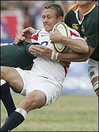 England captain Jonny Wilkinson
