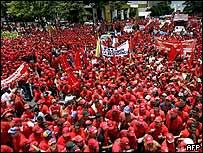 Manifestaci�n pro-gubernamental en Caracas, 2 de junio 2007