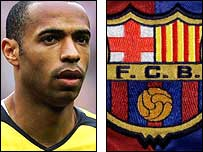 Thierry Henry has long been linked with a move to Barcelona