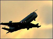 Nimrod in flight