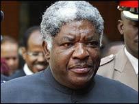 Zambia President Levy Mwanawasa