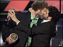 Will Ferrell and Sacha Baron Cohen