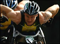 British wheelchair racer David Weir