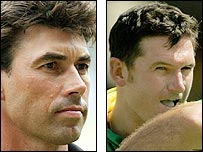 New Zealand and South Africa captains Stephen Fleming and Graeme Smith