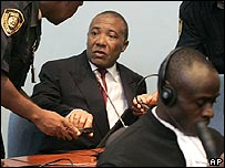 Charles Taylor at Special Court for Sierra Leone