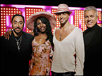 David Gest, Sinitta, Brian Friedman and David Ian