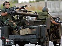 Lebanese troops in Ain al-Hilweh - Sunday 3 June