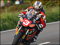 John McGuinness on the Isle of Man TT
