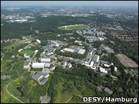 DESY site at Germany (DESY/Hamburg)