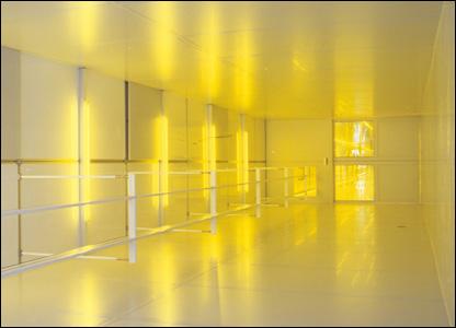 Jane and Louise Wilson - Safe Light, Corridor