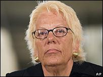 Chief prosecutor Carla Del Ponte