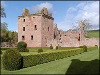 edzell castle, courtesy of Undiscovered Scotland