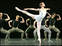Darcy Bussell performs in Song of the Earth