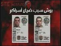 Image of the soldiers' ID cards