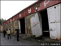 Бывшая советская военная база Брды в Чехии