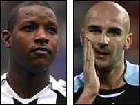 Titus Bramble and Antoine Sibierski