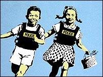 'Jack & Jill' by Banksy