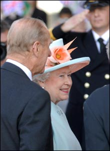 It is the third offical opening of an assembly session that the Queen has attended