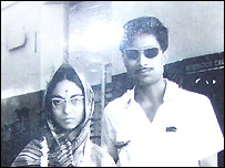 Suman Purohit and her husband Flt Lt Manohar Purohit before his last flight in 1971