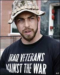 Marine corporal Adam Kokesh