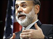 Ben Bernanke, head of the Federal Reserve