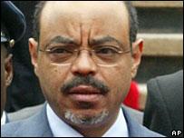 Ethiopia Prime Minister Meles Zenawi