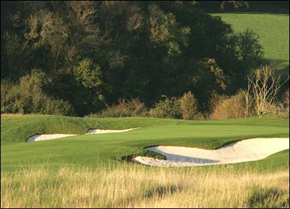 Hole 2, 610 yards, Par 5 the Ryder Cup Course at Celtic Manor (photo: sportingwales.com)