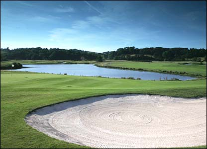Hole 12, 458 yards, Par 4 the Ryder Cup Course at Celtic Manor (photo: sportingwales.com)