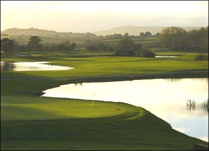 Hole 14, 413 yards, Par 4 the Ryder Cup Course at Celtic Manor (photo: sportingwales.com)