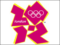 The official London 2012 Olympic logo