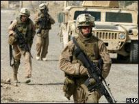 US patrol in Falluja. 25 May