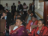 Delegates at the Africa Business Forum