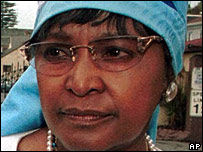 Winnie Madikizela-Mandela, file photo