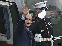 Джордж Буш в Германии