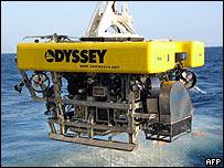 Vehículo cazatesoros de Odyssey