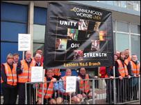 Luton postal strike