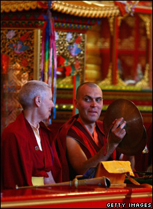 Buddhist monks (Jeff J Mitchell/Getty Images)