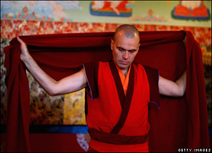 Buddhist monk (Jeff J Mitchell/Getty Images)