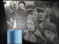 Евреи в концентрационном лагере