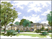Artist's impression of Erskine Edinburgh extension