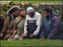 Adel Yahya on camping trip in Lake District