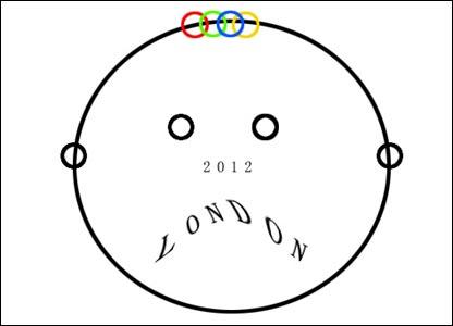 """Cath Le Couteur sent this """"sad"""" logo"""