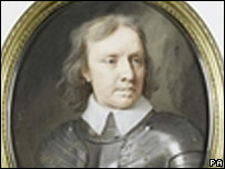 Oliver Cromwell portrait (Sotheby's/PA Wire Copyright in this image shall remain vested in Sotheby's)