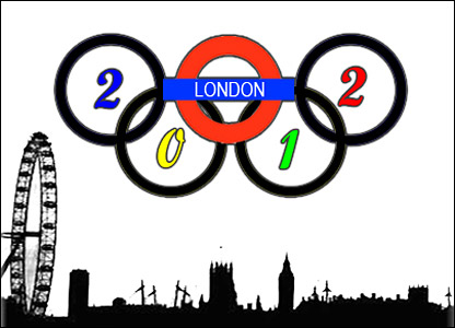 Alex Walker's design for an Olympic logo
