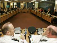 The Policing Board is made up of nine independents and 10 politicians