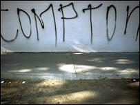 Graffiti in South Central LA