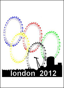 Matt sent us his logo for the London Olympics