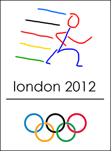 Eric Boot's design for Olympic logo