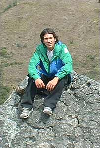 Federico Mendoza, estudiante de Colombia