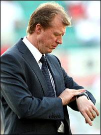 England coach Steve McClaren